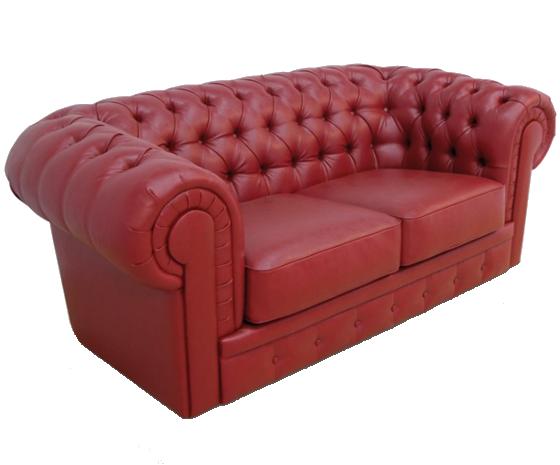 Диван Честер люкс 2 Красный